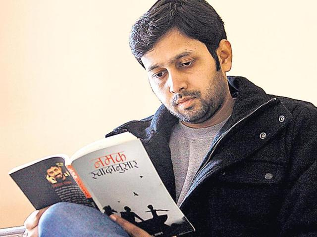 Nikhil-Sachan-is-a-new-age-Hindi-writer-HT-photo