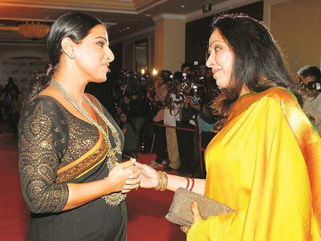 The-wedding-reception-of-Rriddhi--and-Tejas-was-a-star-studded-affair-Vidya-Balan-arrived-with-husband-Siddharth-Roy-Kapur-Photo-Prodip-Guha