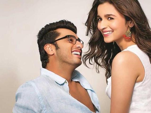 Alia Bhatt,Arjun Kapoor,2 States trailer