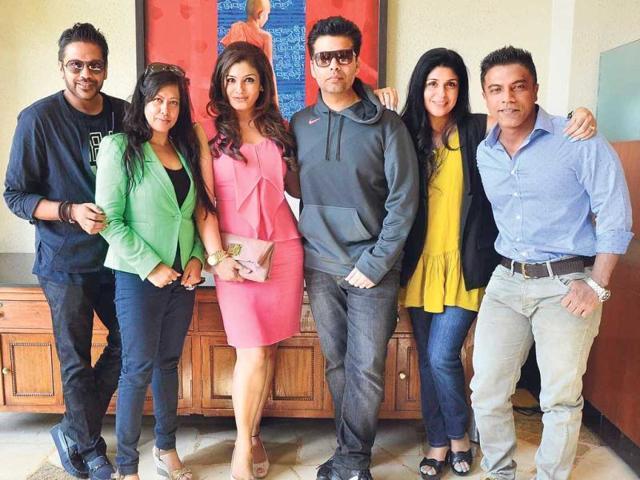 Mumbai's Most Stylish awards,Karan Johar,Raveena Tandon