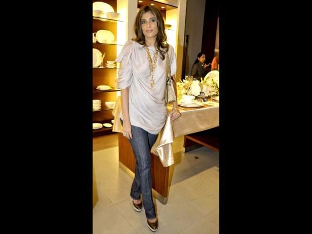 File-Photo-Businesswoman-Roohi-Jaikdishan-is-known-for-her-inherent-sense-of-style-HT-Photo