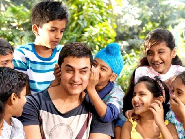 Aamir Khan shares a special bond with kids as he prepares for Satyamev Jayate 2.