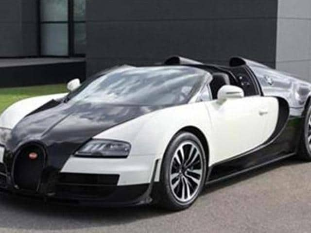 bugatti,Veyron special edition,Veyron special edition shown