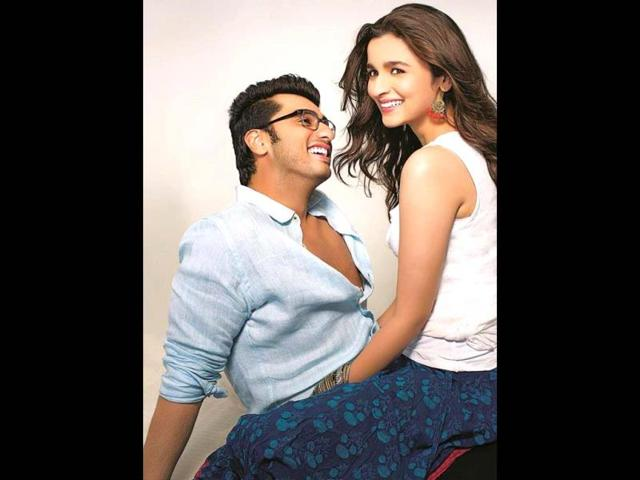 Alia and Arjun