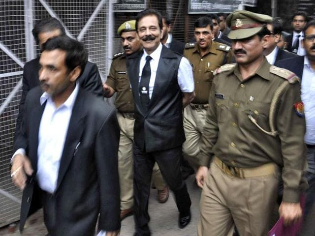 The-Sahara-group-chairman-Subrata-Roy-is-escorted-by-police-to-a-court-in-Lucknow-Reuters-Photo
