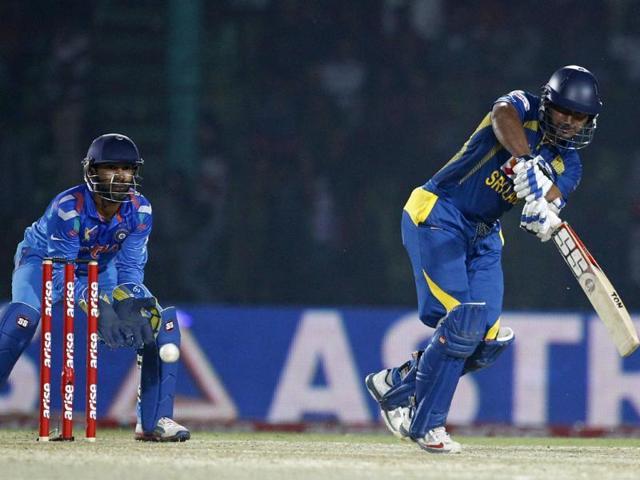 Asia Cup: Sangakkara's ton helps Sri Lanka win vs India