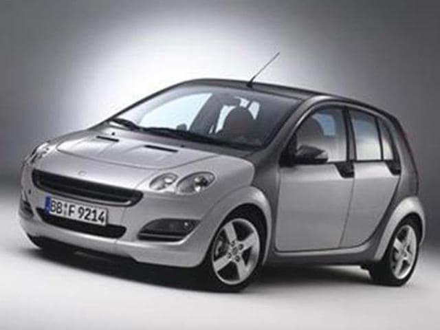 smart,Smart to unveil Forfour,Smart to unveil Forfour at Paris Motor Show