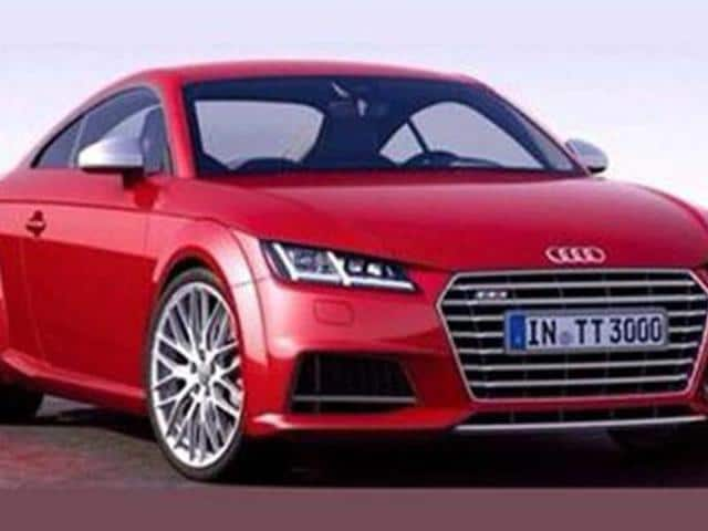 New Audi TT coupe leaked