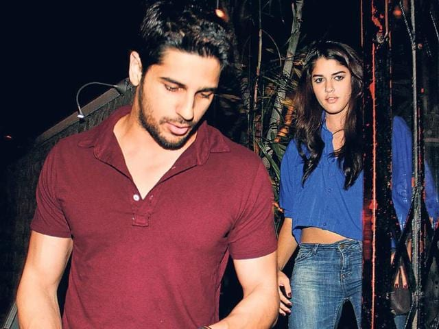 Sidharth-Malhotra-was-also-seen-at-a-Bandra-nightclub-with-Brazilian-model-Izabelle-Leite