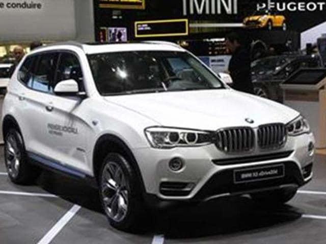 bmw,BMW unveils X3 facelift,BMW X3