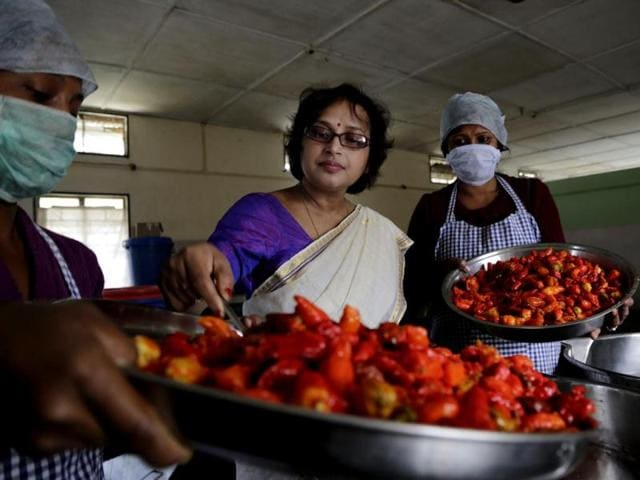 Meghali-Bora-from-Assam-packs-a-rural-economic-revolution-in-her-branded-food-products-HT-Photo