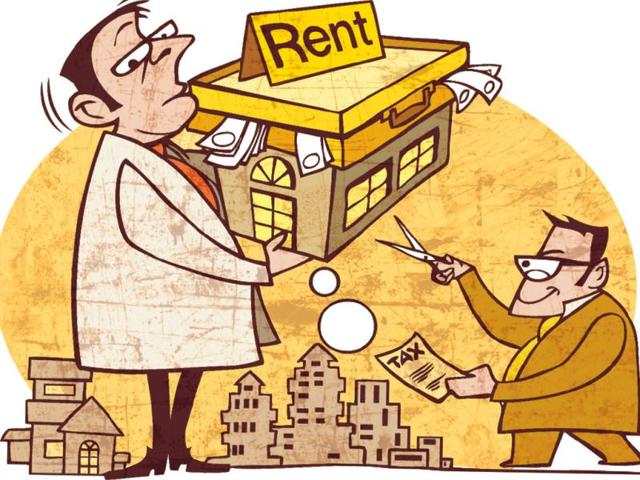 house on rent,tax treatment,taxable income