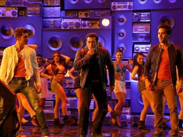 Salman-Khan-shoots-for-O-Teri-promotional-song