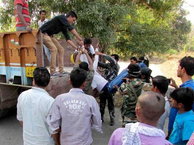 Sukma Attack,Chhattisgarh attack,CRPF personnel killed