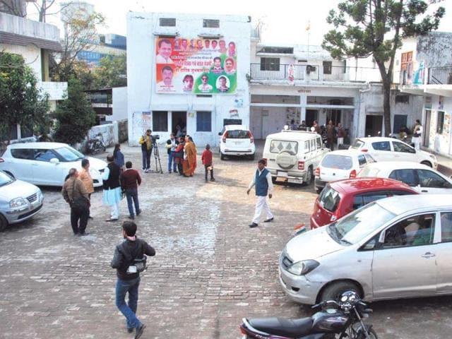 The-Congress-Bhawan-in-Dehradun-HT-File-Photo