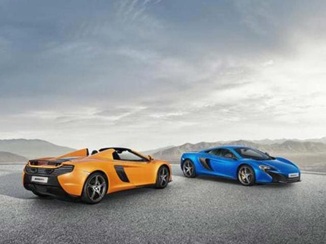 McLaren surprises Geneva crowds with new convertible,British supercar,McLaren 650S