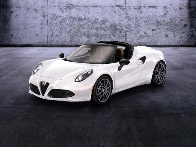 Alfa Romeo 4C Spider,4C Spider,The return of the Alfa Romeo Spider