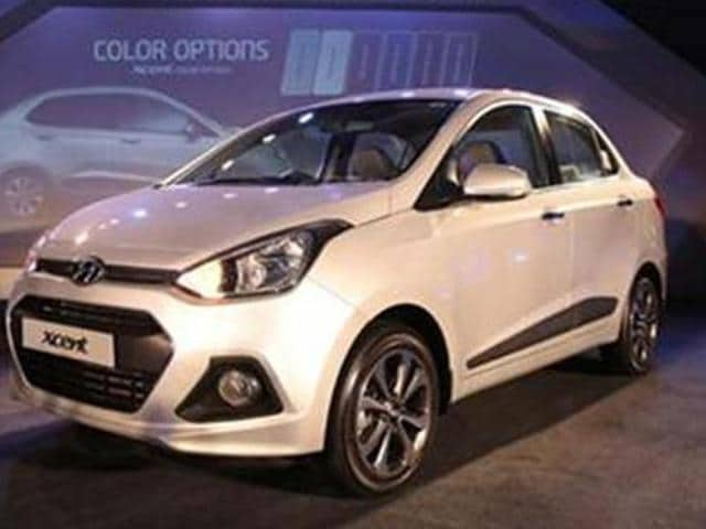 Hyundai launches compact sedan Xcent at Rs. 4.66 lakh,sedan Xcent,Hyundai Motor India Ltd