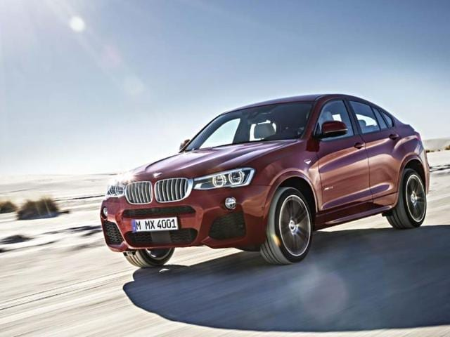 BMW X4 Sports Activity Coupé to make New York debut