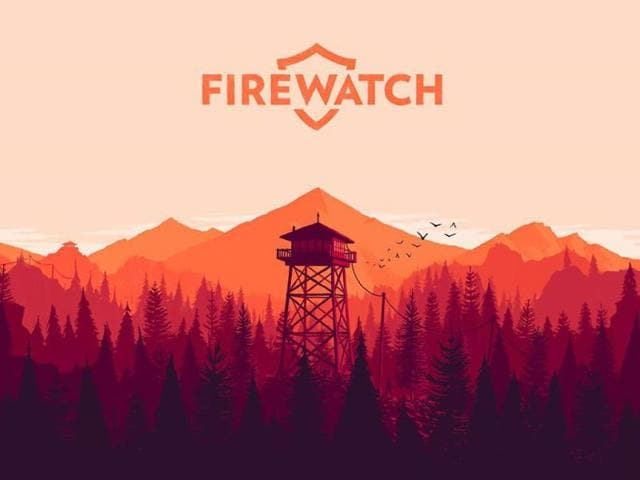 Promotional-art-for-Firewatch-channels-the-style-of-Olly-Moss-Photo-AFP