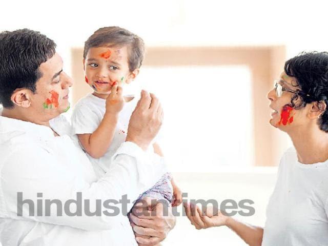 Aamir Khan,Holi,Hindustan Times