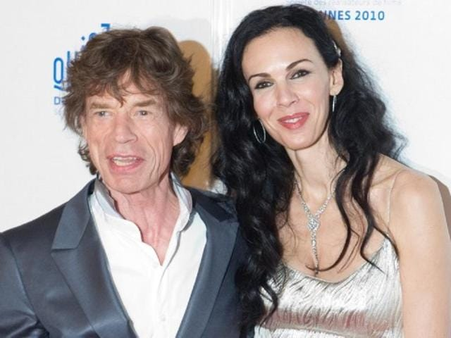 Celebrated-fashion-designer-L-Wren-Scott-with-Mick-Jagger-AFP-Photo