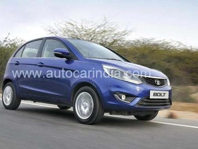 The Tata Bolt hatchback is expected to enter our showrooms in the latter half of 2014.
