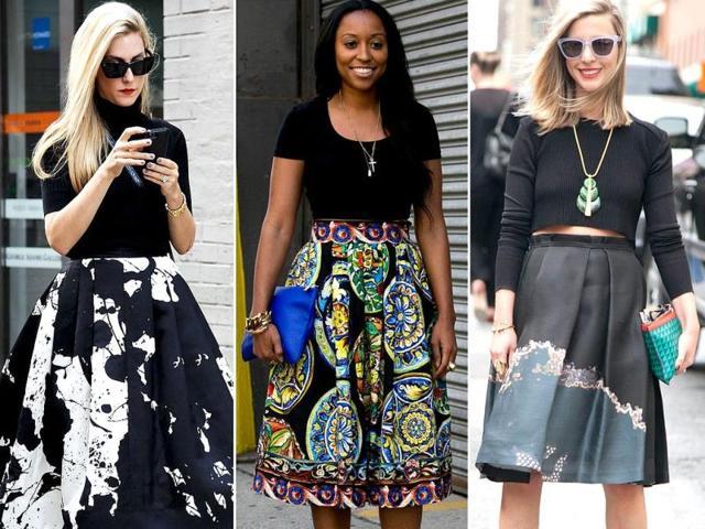 Fashion trends,Full midi skirts,fashion