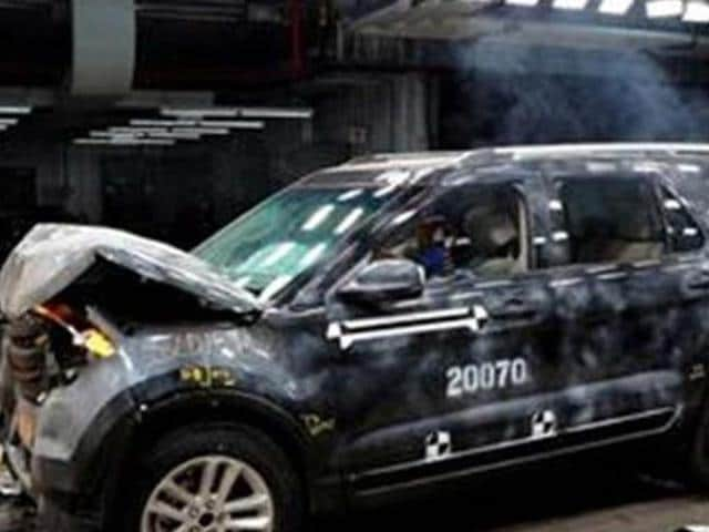 ford,ford crash testing,Ford to up investment in crash testing