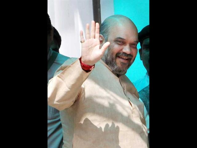 BJP-leader-Amit-Shah-arrives-for-party-s-central-election-committee-meeting-at-party-headquarters-in-New-Delhi-PTI-photo
