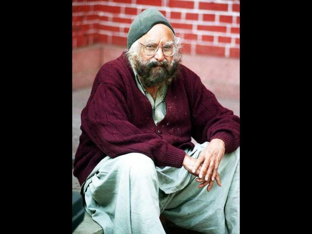 File-photo-of-writer-Khushwant-Singh-in-New-Delhi-AFP-Photo