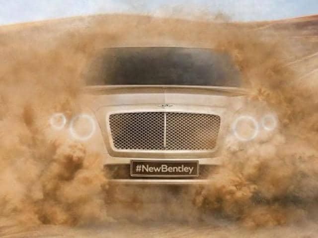 bentley,Bentley targets 322kph for new SUV,new 4x4