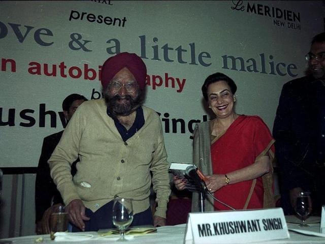 Khushwant Singh,Khushwant Singh dead,Twitter