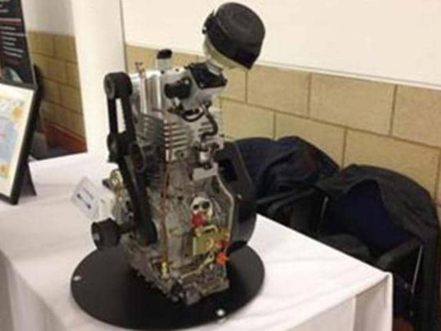 Self-supercharging engine in development,one-cylinder engine,self supercharge