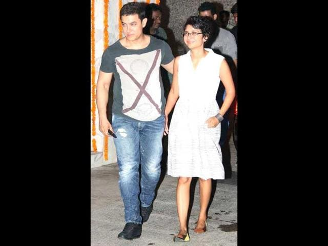 A fatter Aamir Khan spotted as he prepares for his role in Dangal. (Photo: Yogen Shah)