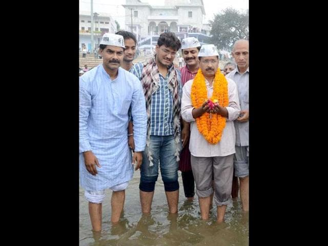 Aam Aadmi Party,Arvind Kejriwal,Kejriwal Varanasi candidature