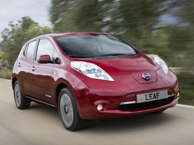 Electric cars three of the best