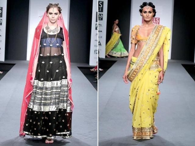 Models-present-the-collection-Anupamaa-by-Anupama-Dayal-at-the-Wills-India-Fashion-Week-HT-Photo-Raajessh-Kashyap