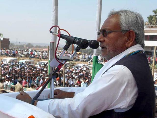 Bihar-CM-and-JD-U-leader-Nitish-Kumar-addressing-a-rally-for-the-upcoming-Lok-Sabha-elections-in-Gaya-HT-photo