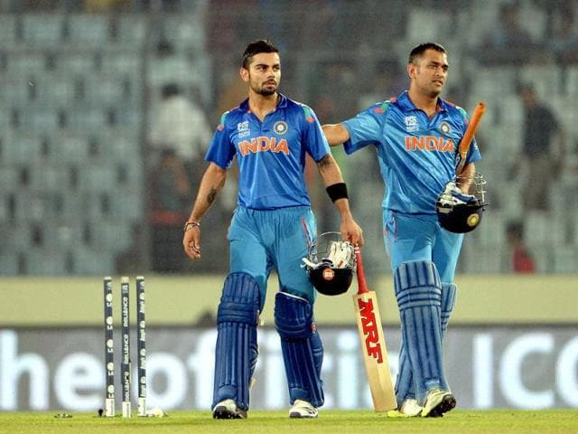 Thankful to Dhoni for letting me hit the winning runs: Kohli