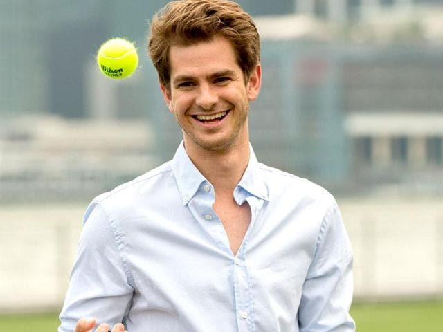 Andrew Garfield gets ready for some IPL action!