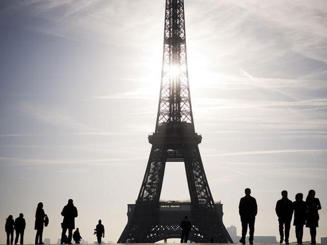 Eiffel tower,Paris,lift