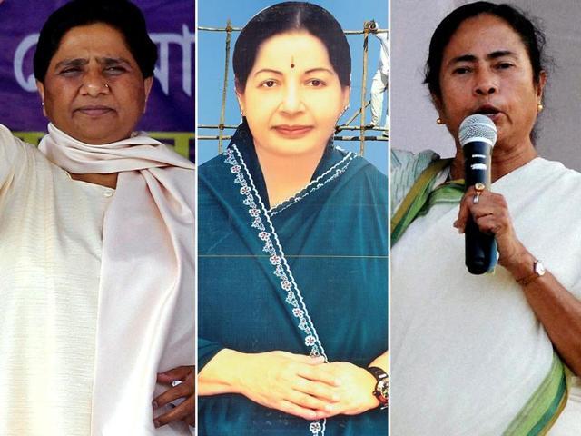 Mayawati-Jayalalithaa-Mamata