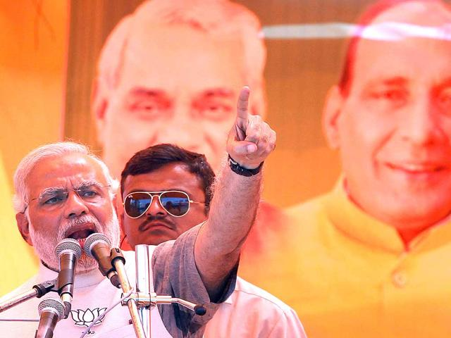 BJP aims for 'world-record' victory margin for Modi in Vadodara