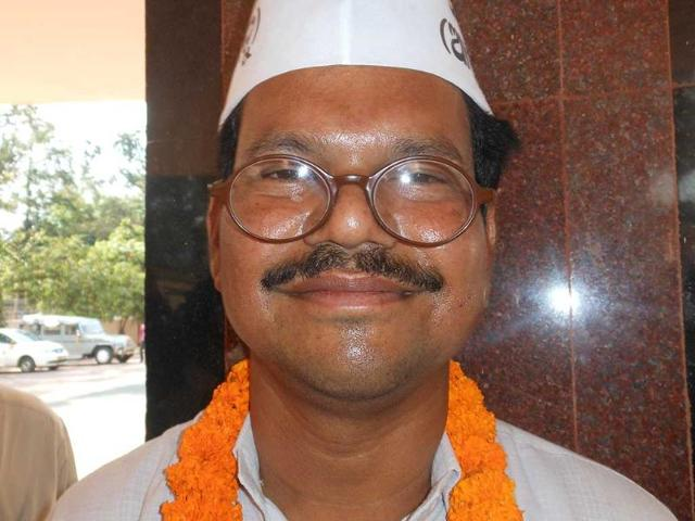Narendra-Mohanty-the-Aam-Aadmi-Party-candidate-from-Kandhamal-has-28-criminal-cases-against-him-Arabinda-Mahapatra-HT-photo