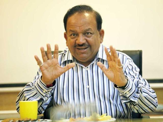 Harsh Vardhan,health minister,health insurance
