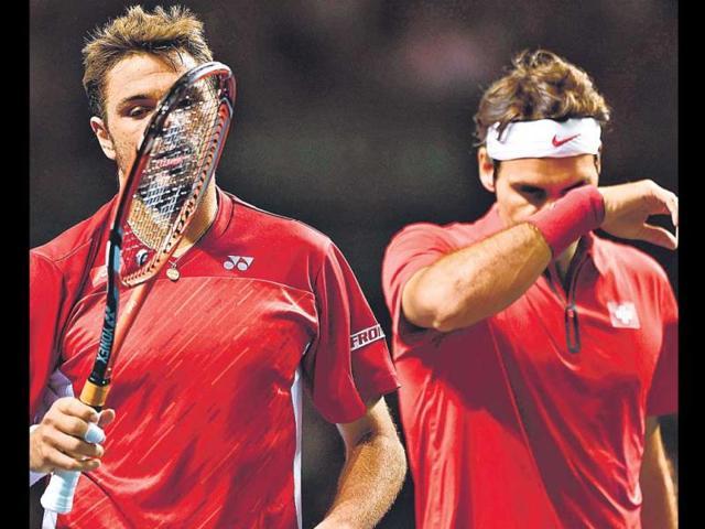 As-Stanislas-Wawrinka-L-and-compatriot-Roger-Federer-found-out-on-Saturday-Kazakhstan-cared-little-for-reputation-AFP-Photo