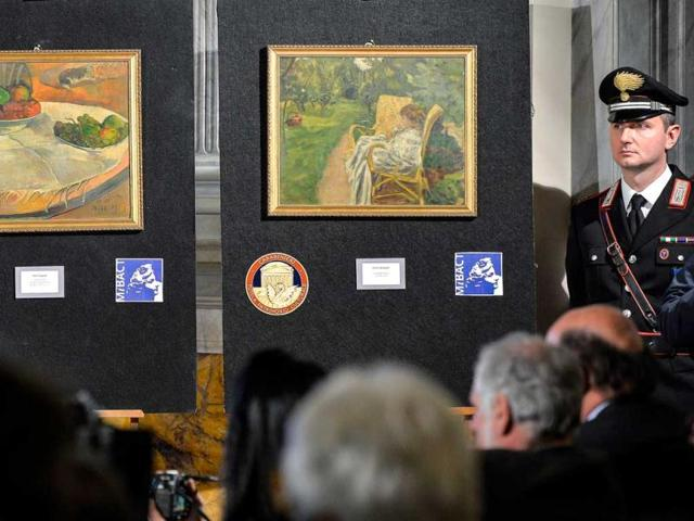 Italy heritage sleuths launch stolen art app