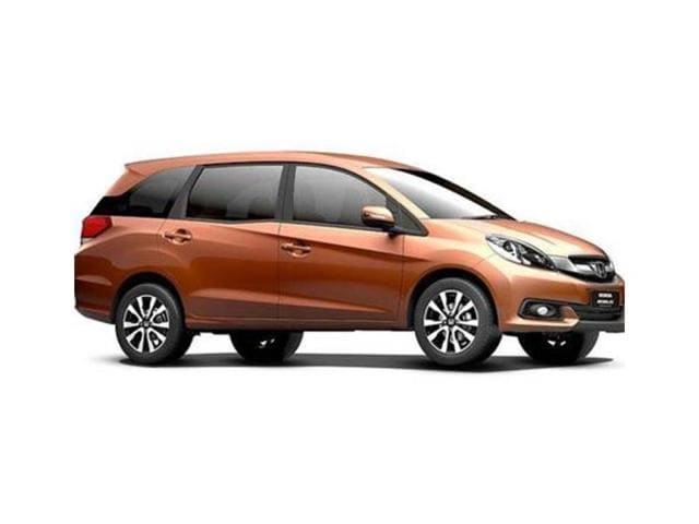 Honda launches new grades of Mobilio,tagged up to Rs11.55 lakh,AVN