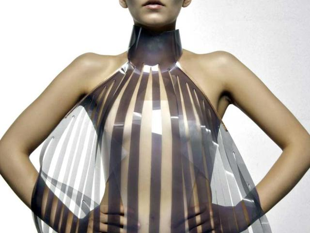 This dress goes transparent when you are sexually aroused